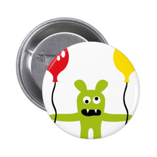 AliensPartyP10 Pinback Buttons
