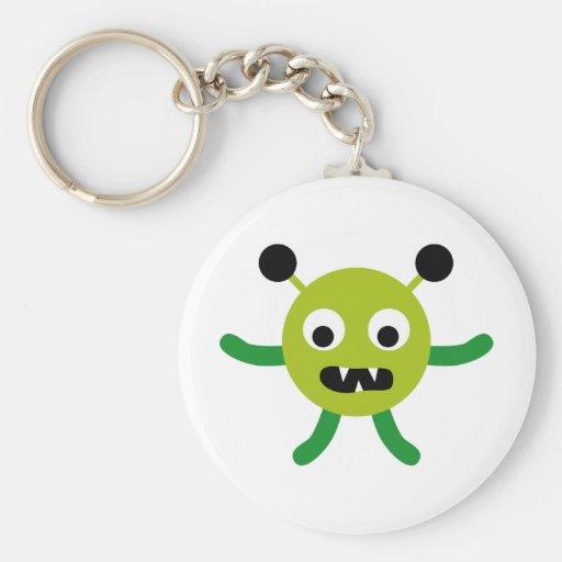 AliensPartyP3 Keychain