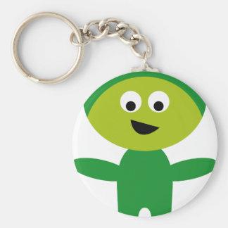 AliensPartyP4 Keychains