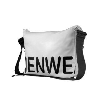 AlienWear Art Messenger Bag