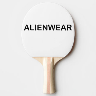 AlienWear Art Ping Pong Paddle