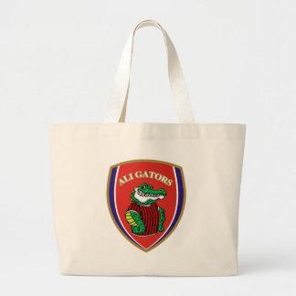 Aligator Large Tote Bag