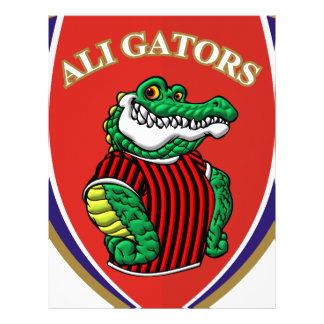 Aligator Letterhead