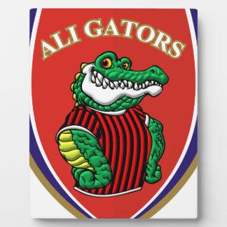 Aligator Plaque