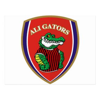 Aligator Postcard