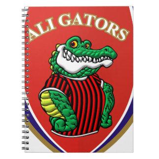 Aligator Spiral Notebook