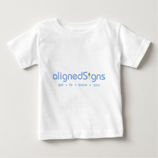 Aligned Signs Baby T-Shirt