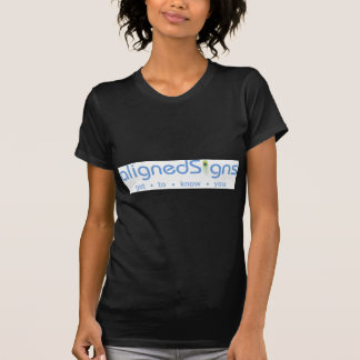 Aligned Signs T Shirts