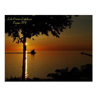 """Aligned Sunset"" Postcard"