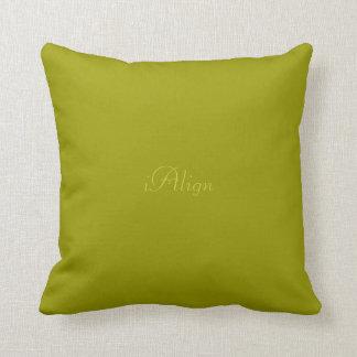 Alignment pillow