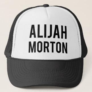 Alijah Morton Trucker Hat