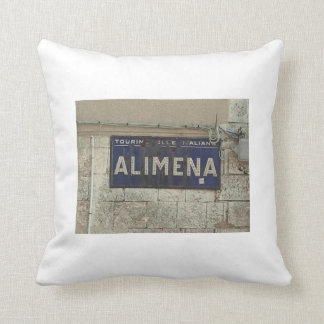 Alimena Rustic Italian Country Pillow