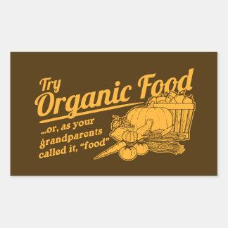 Aliment biologique - vos grands-parents l ont appe adhésifs