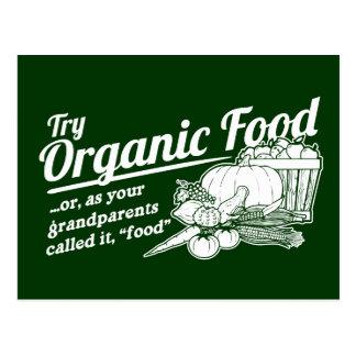 Aliment biologique - vos grands-parents l ont appe cartes postales
