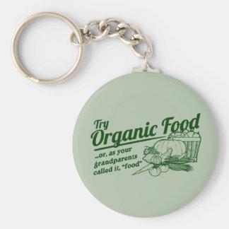 Aliment biologique - vos grands-parents l ont appe porte-clé