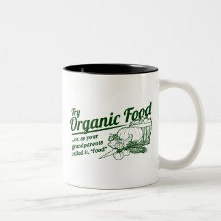 Aliment biologique - vos grands-parents l ont appe tasse