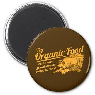 Aliment biologique - vos grands-parents l'ont appe aimants pour réfrigérateur