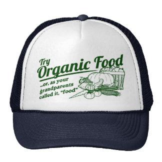 Aliment biologique - vos grands-parents l'ont appe casquettes de camionneur