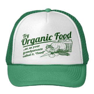 Aliment biologique - vos grands-parents l'ont appe casquette