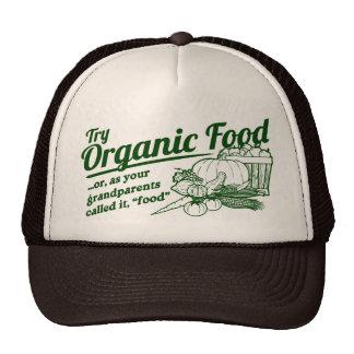 Aliment biologique - vos grands-parents l'ont appe casquette de camionneur