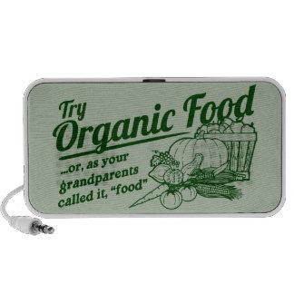 Aliment biologique - vos grands-parents l'ont appe haut-parleur portable