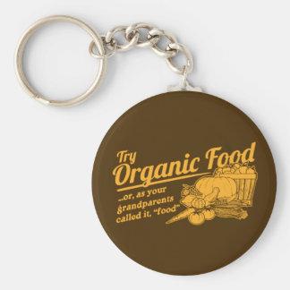 Aliment biologique - vos grands-parents l'ont appe porte-clef