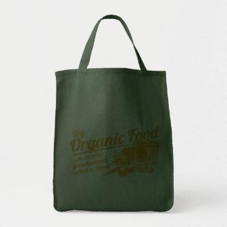 Aliment biologique - vos grands-parents l'ont appe sacs fourre-tout