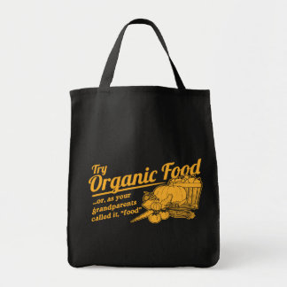 Aliment biologique - vos grands-parents l'ont appe sac en toile