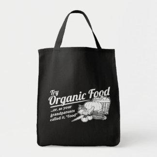 Aliment biologique - vos grands-parents l'ont appe sac en toile épicerie