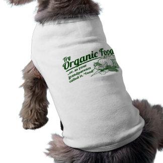 Aliment biologique - vos grands-parents l'ont appe tee-shirts pour animaux domestiques