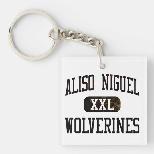 Aliso Niguel Wolverines Athletics Keychain