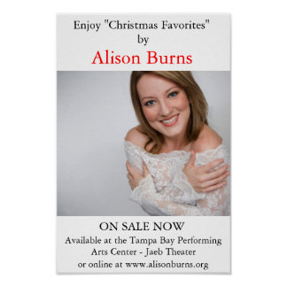 Alison Burns Poster