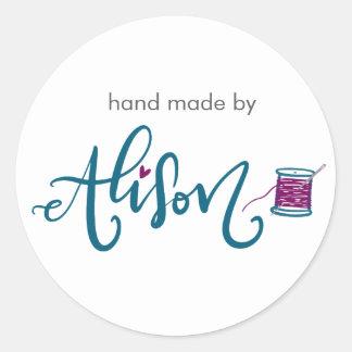 Alison Round Sticker
