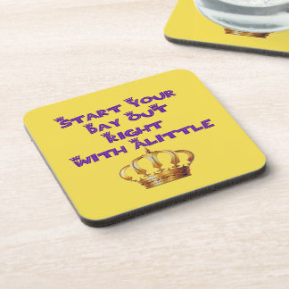 Alittle Crown Beverage Coasters