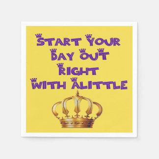 Alittle Crown Napkin