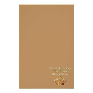 Alittle Crown Stationery