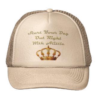 Alittle Crown Trucker Hat