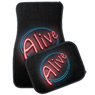 Alive concept. car mat