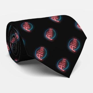 Alive concept. tie