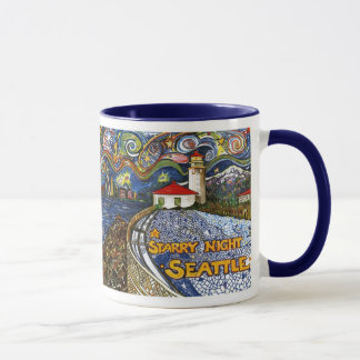 Alki Point Lighthouse Mug
