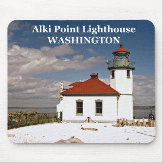 Alki Point Lighthouse, Washington Mousepad