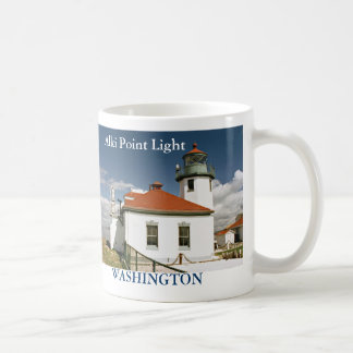 Alki Point Lighthouse, Washington Mug