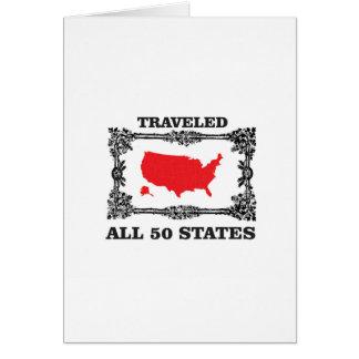all 50 states award card