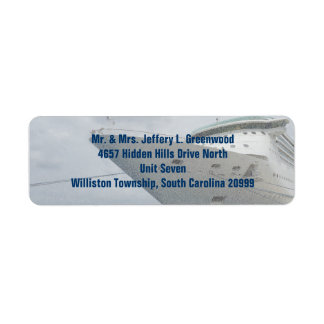 All Aboard Return Address Label