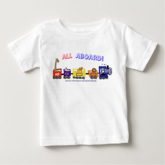 All Aboard The Fun Train! Baby T-Shirt