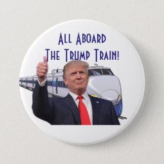 All Aboard the TRUMP Train Button