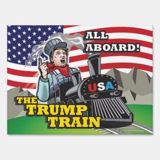 All Aboard The Trump Train! Pro Trump USA 1st MAGA