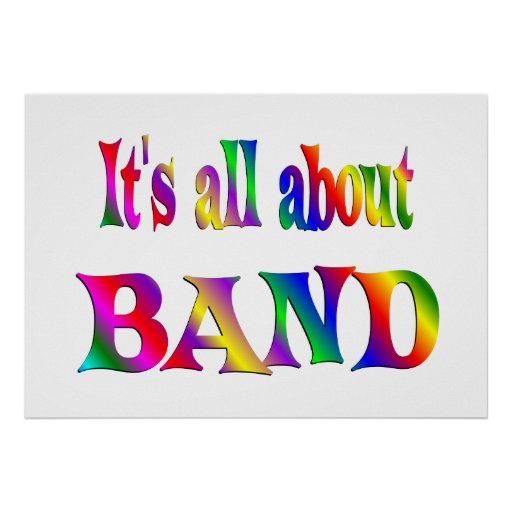 All About Band Poster