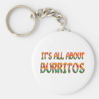 All About Burritos Keychain