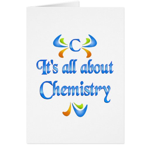 All About Chemistry Cards
